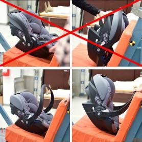 rebound bar infant seat