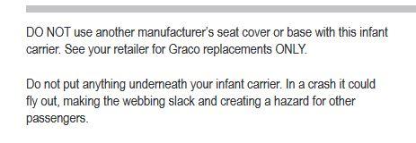 graco snug safe 0-13kg -accesories 1